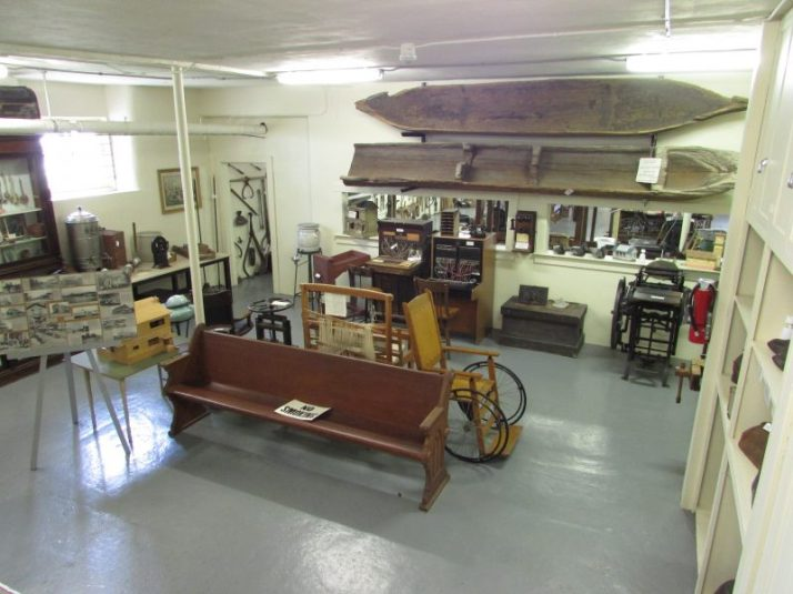 Peshtigo Fire Museum display room 2