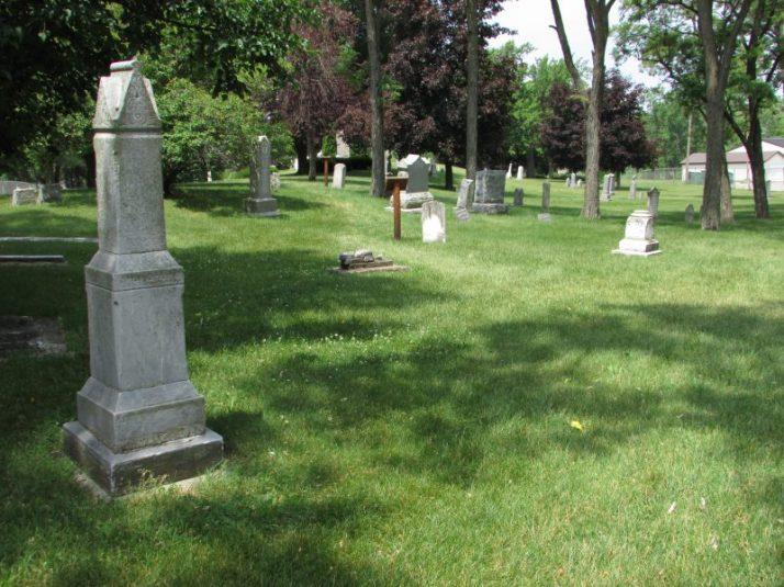 Peshtigo Fire Museum Cemetery