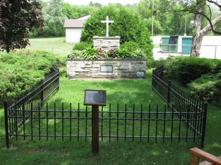 Mass Grave at Peshtigo Fire Museum