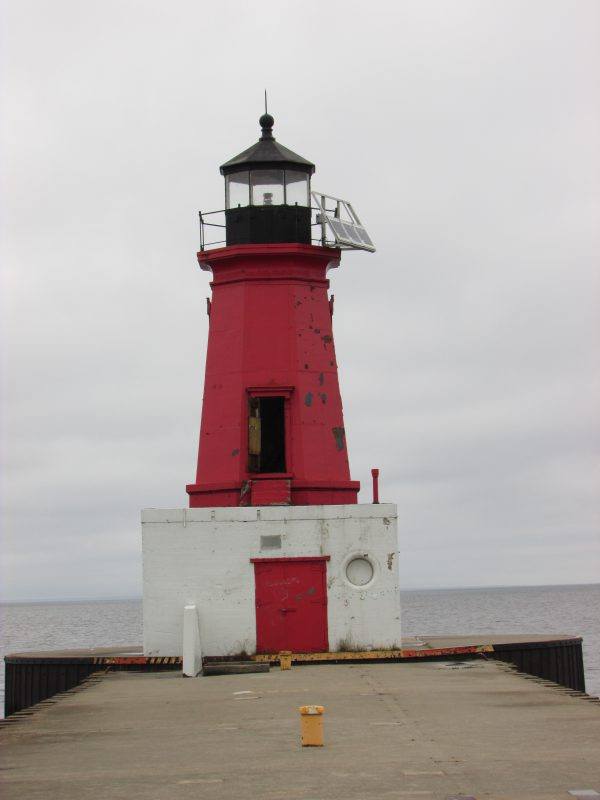 Menominee North Pier Light House