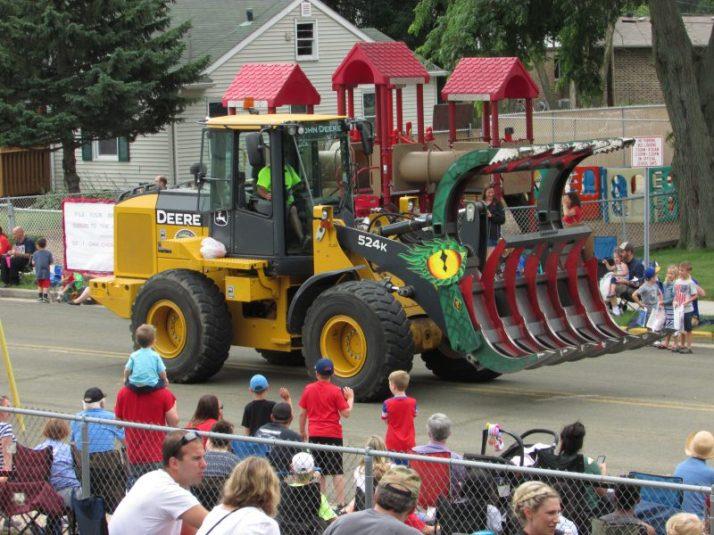 John Deere Tractor monster