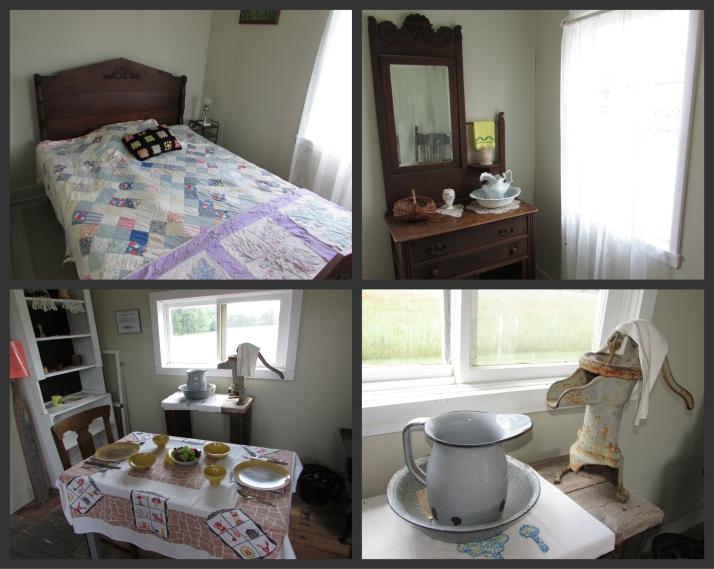 Inside Honeymoon Cabin in Crivitz