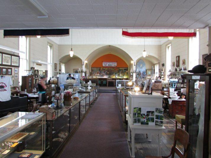 Inside Peshtigo Fire Museum