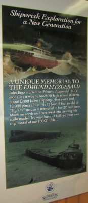 Lego Edmund Fitzgerald info