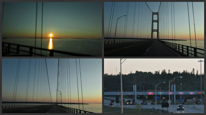 Mackinac Bridge Crossing