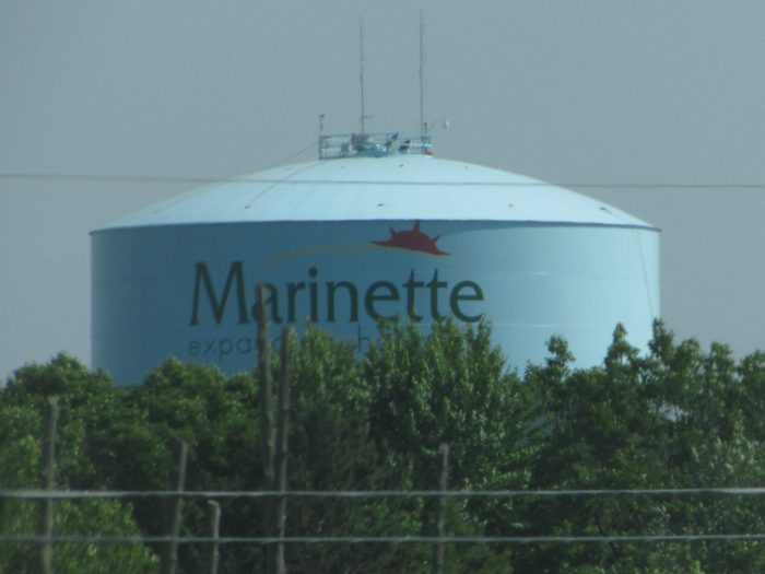 Marinette Water tower