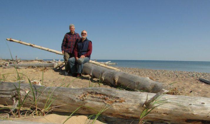 Selfie at Whitefish Bay