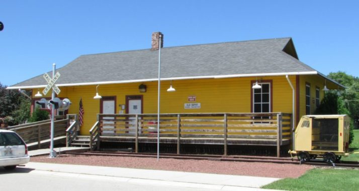 Seymour historic train depot