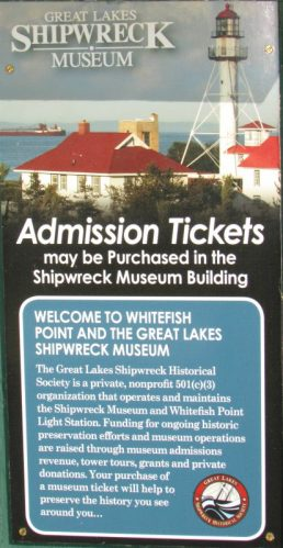 Shipwreck Museum info