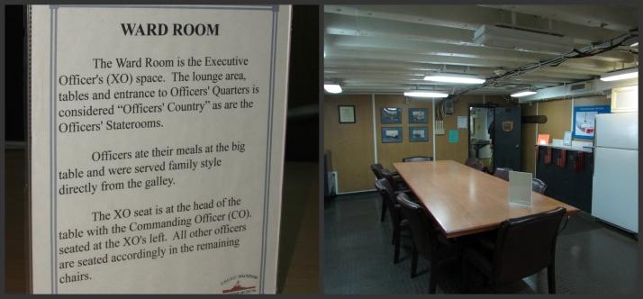 Ward Room on Icebreaker