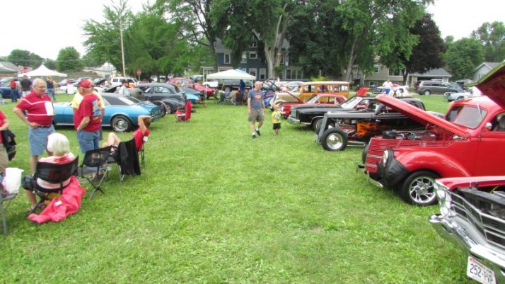Car show at DeForest