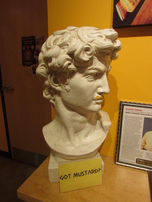 Got Mustard Statue in Mustard Museum