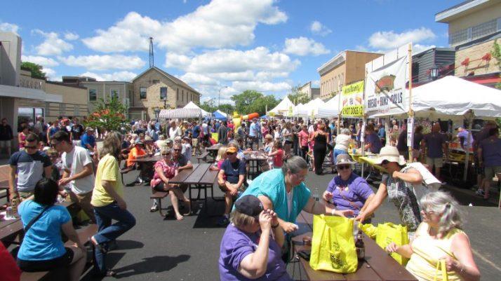 Mustard Festival Crowd