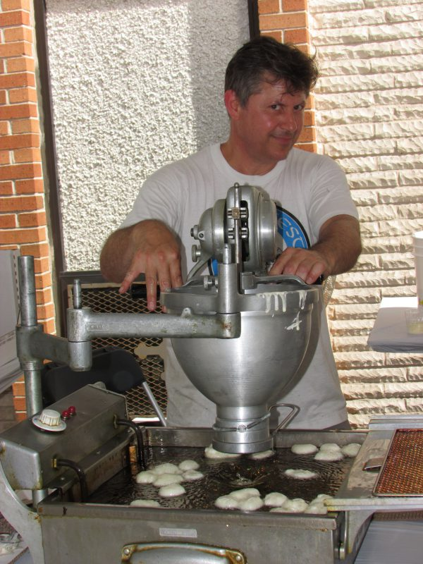 Greekfest Cinnamon Doughnut Maker