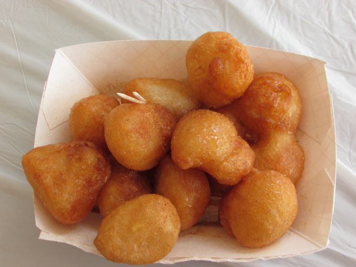 Greekfest Cinnamon Doughnuts