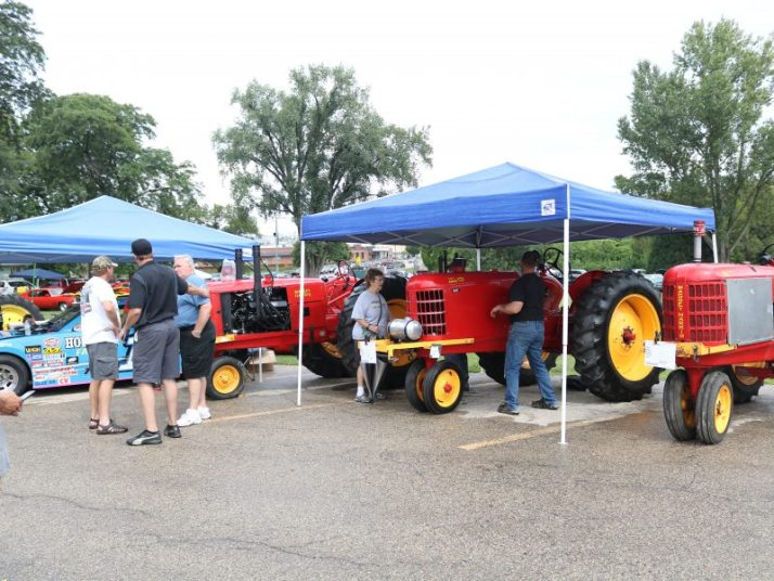 Tractors atStoughton Coffee Break festival