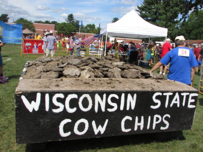 Cow Chip wagon