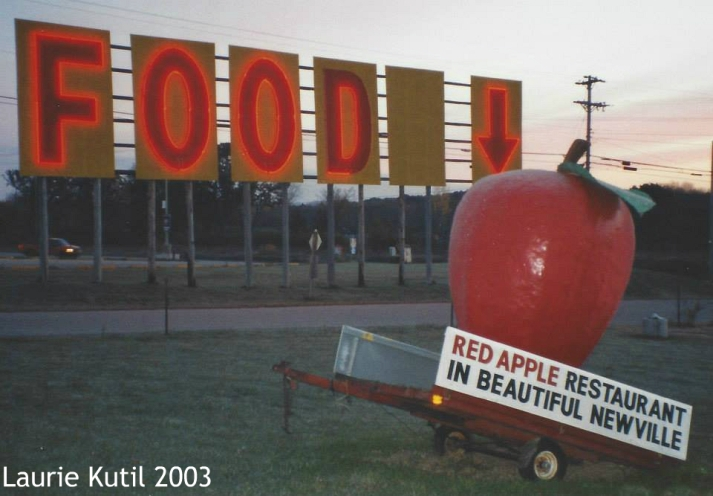 red-apple-and-food-sign-in-newville-2003