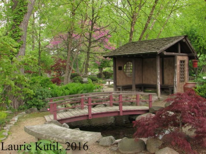 Janesville Rotary Gardens in Spring | Adventures in Travel