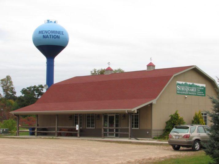 Menominee Reservation in Keshena