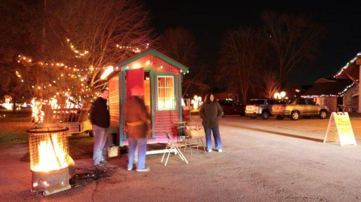 Waunakee Lights hut img_2440