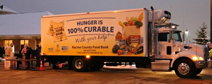 racine-county-food-bank-truck-at-sturtevant
