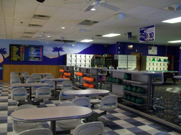 Village Lanes inside