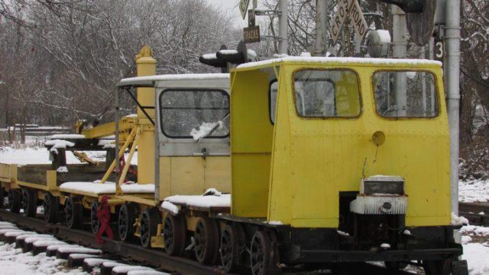 Rail cars at Sturtevant