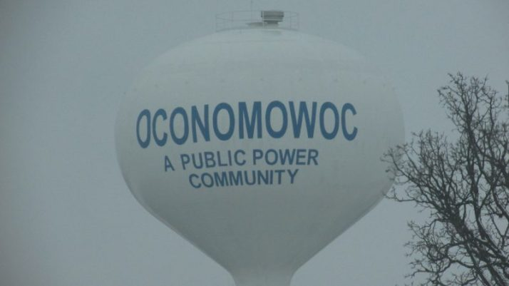 Oconomowoc water tower