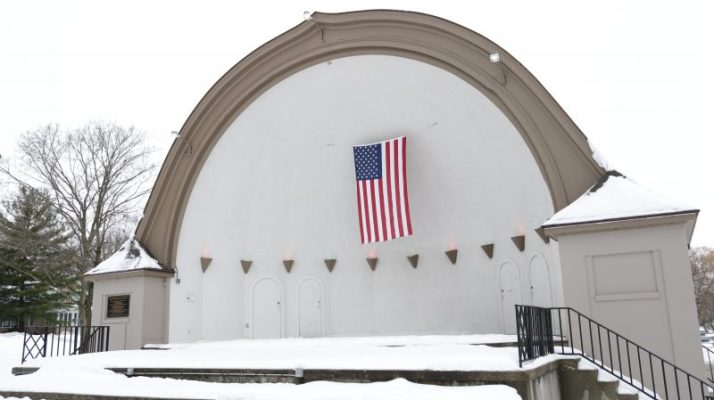 City Beach bandshell in Oconomowoc