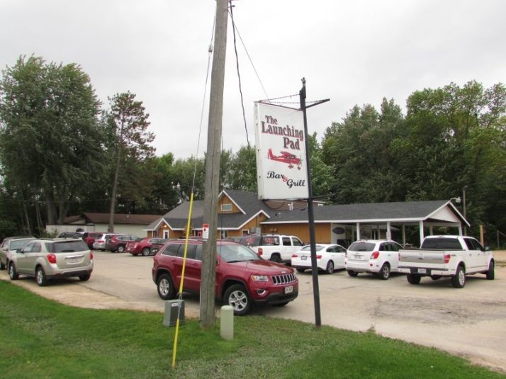 The Launching Pad Bar and Grill in Shawano