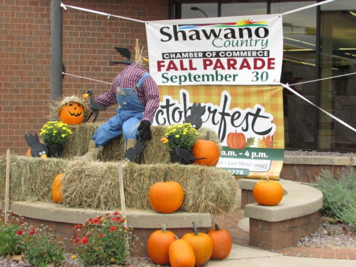 Shawano Octoberfest sign