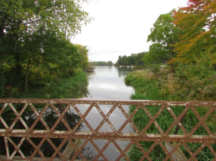 Bridge at Heritage Park in Shawano