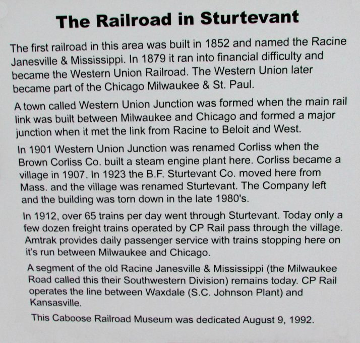 railroad-in-sturtevant-sign