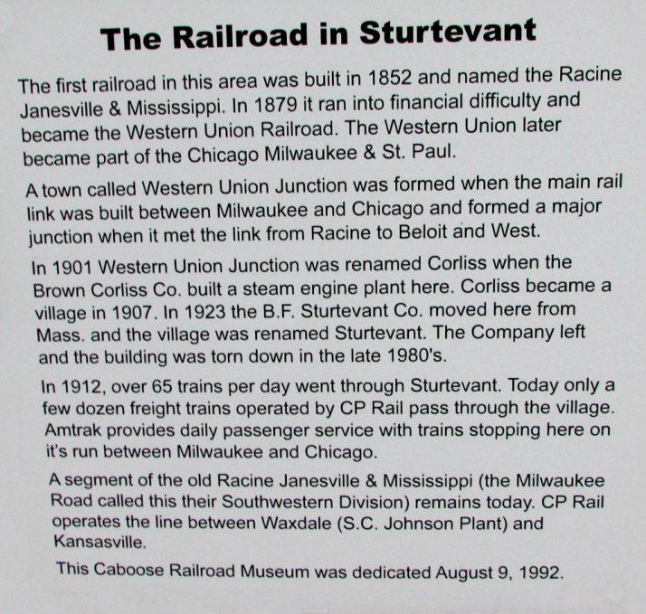 railroad-in-sturtevant-sign