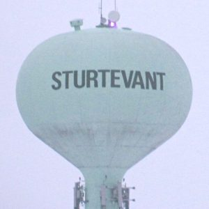 sturtevant-water-tower