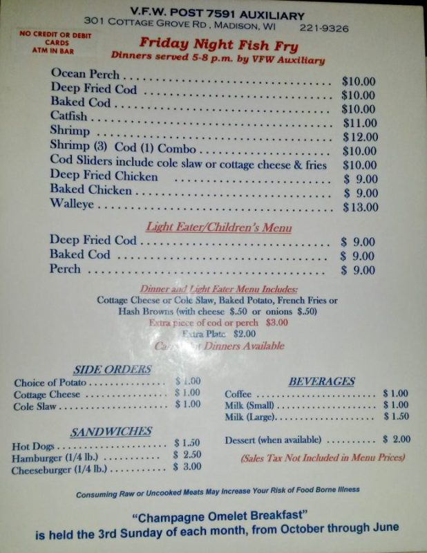 vfw-post-7591-menu