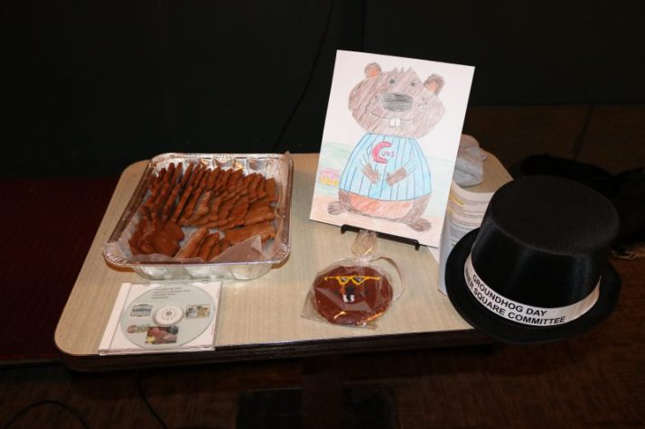 Groundhog Cookies and Coloring Contest picture