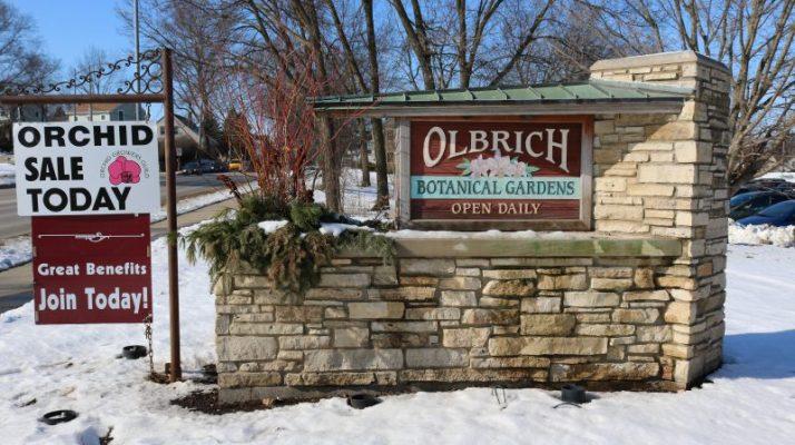 Olbrich Gardens sign