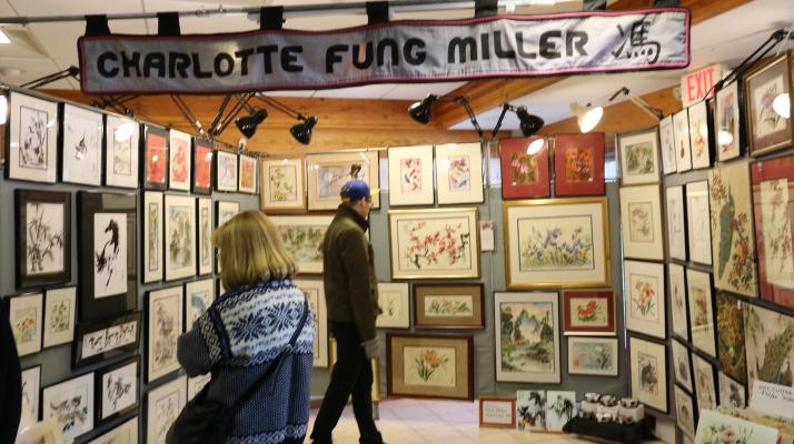 Charlotte Fung Miller Art at Olbrich